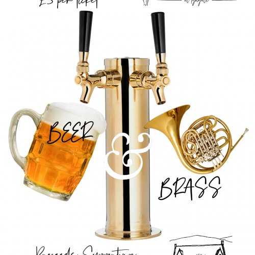 21-05-28 Beer & Brass Marquee Poster